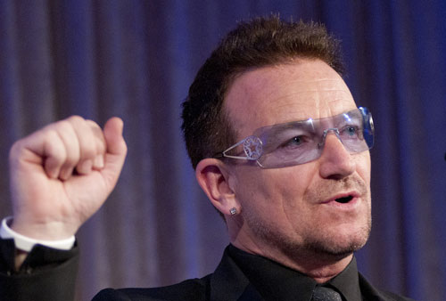 Bono pledges to use Facebook IPO windfall for African ...